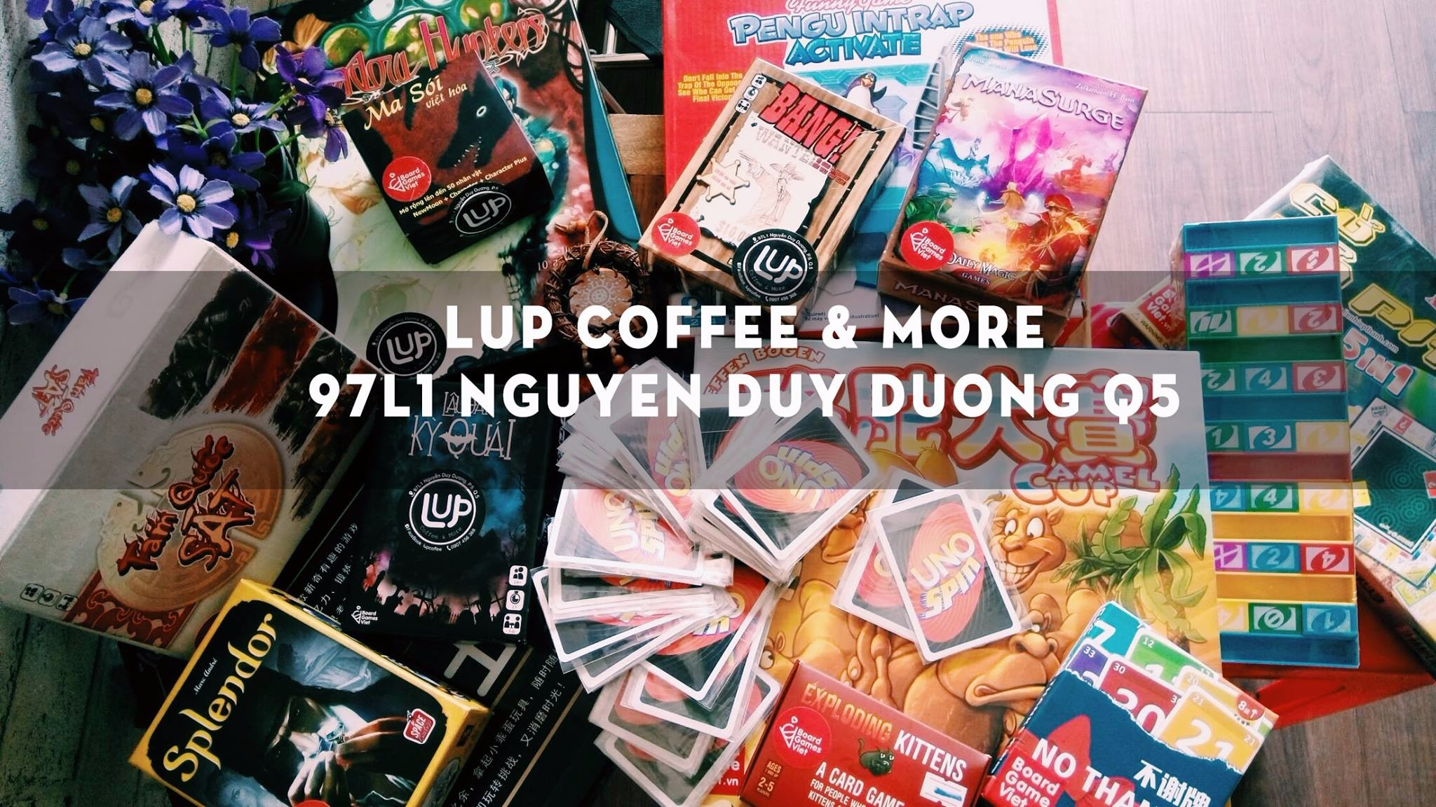 <b>LUP Coffee:</b>