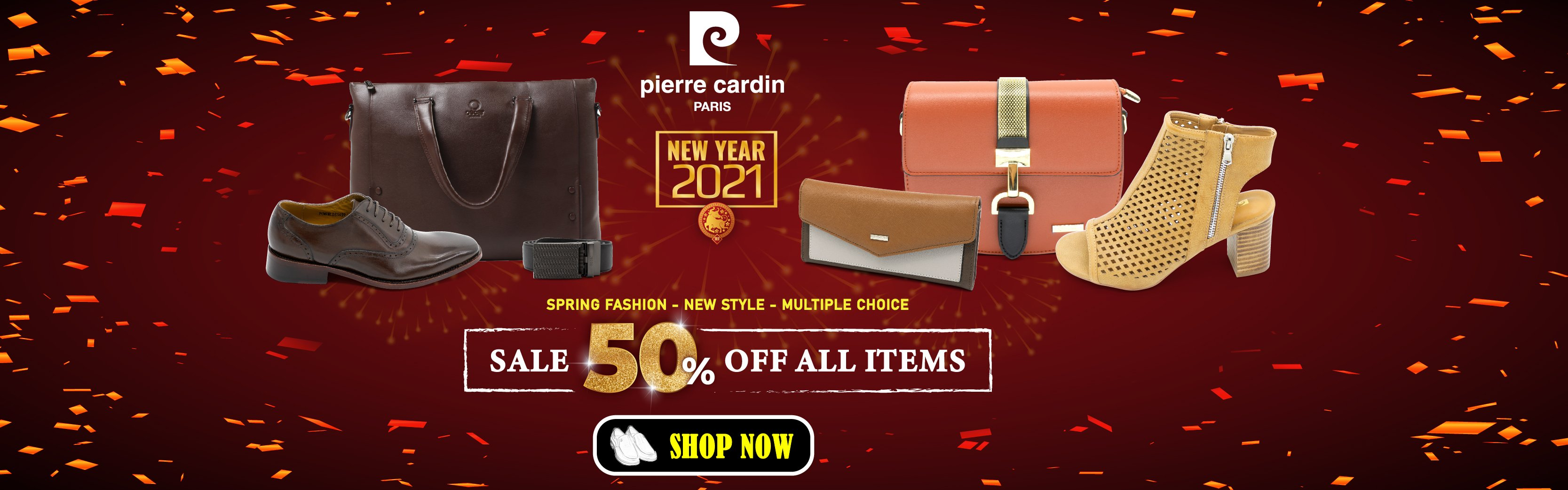 Pierre Cardin Paris Vietnam: BLACK FRIDAY - SALES OFF 50% ALL ITEMS