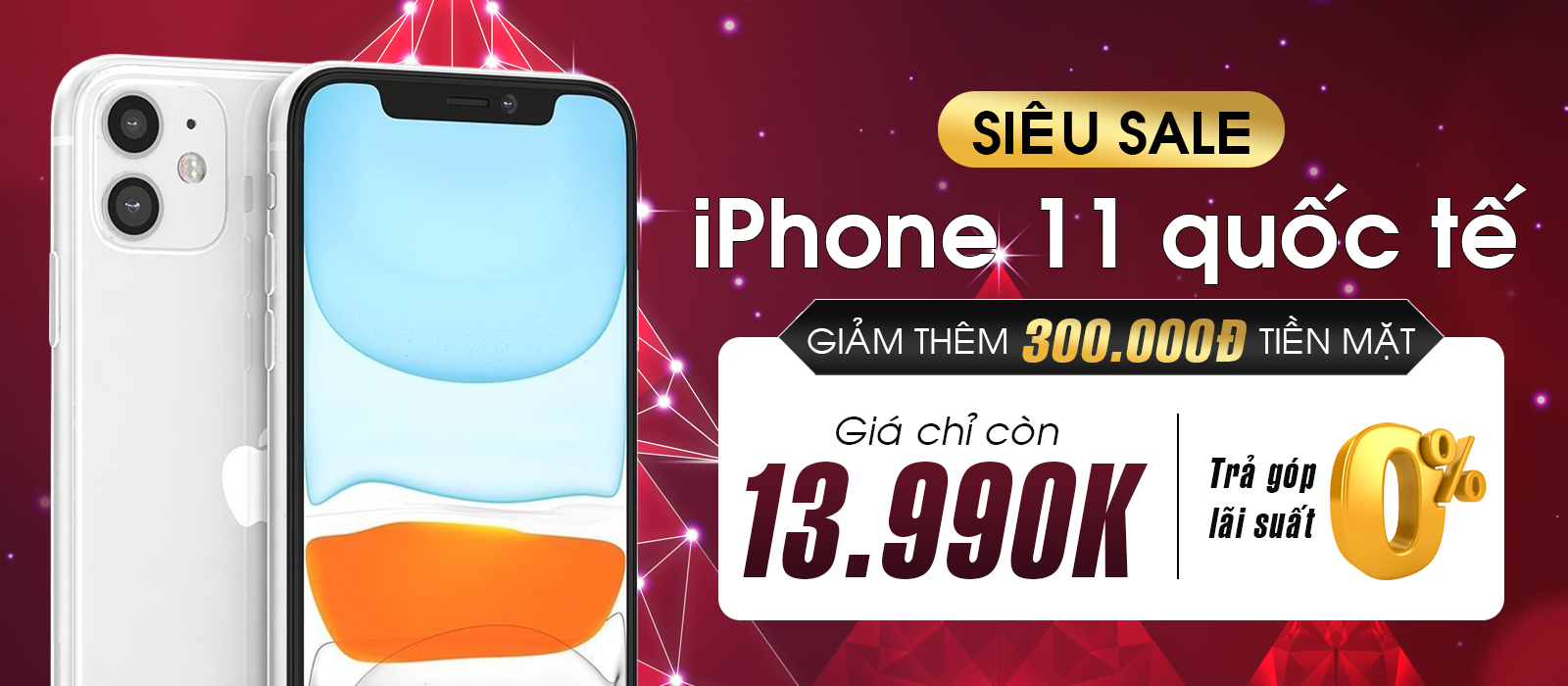 iPhone X<br>Giảm 700K