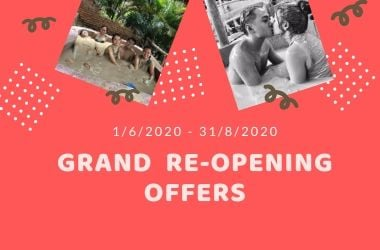 Grand re-opening offers