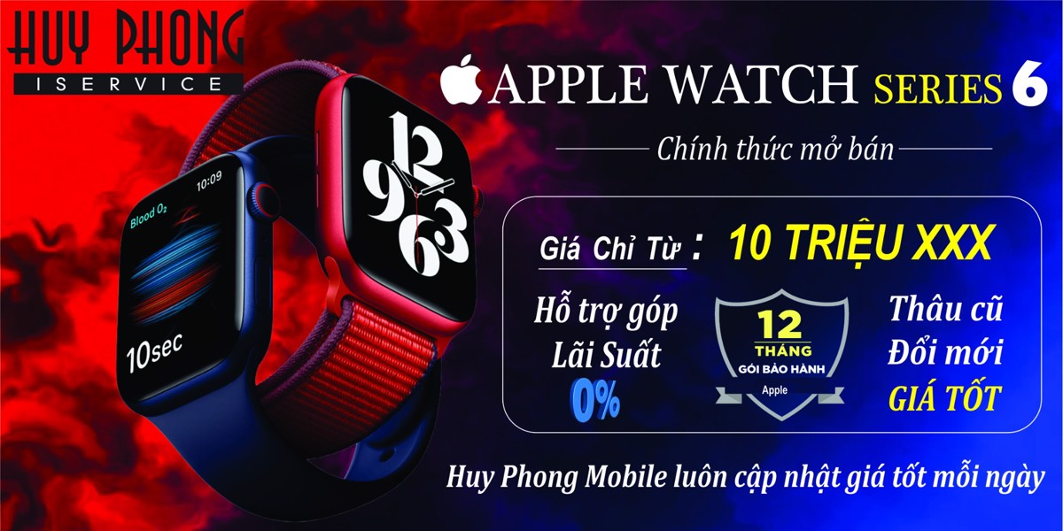 APPLE WATCH SERIS 6
