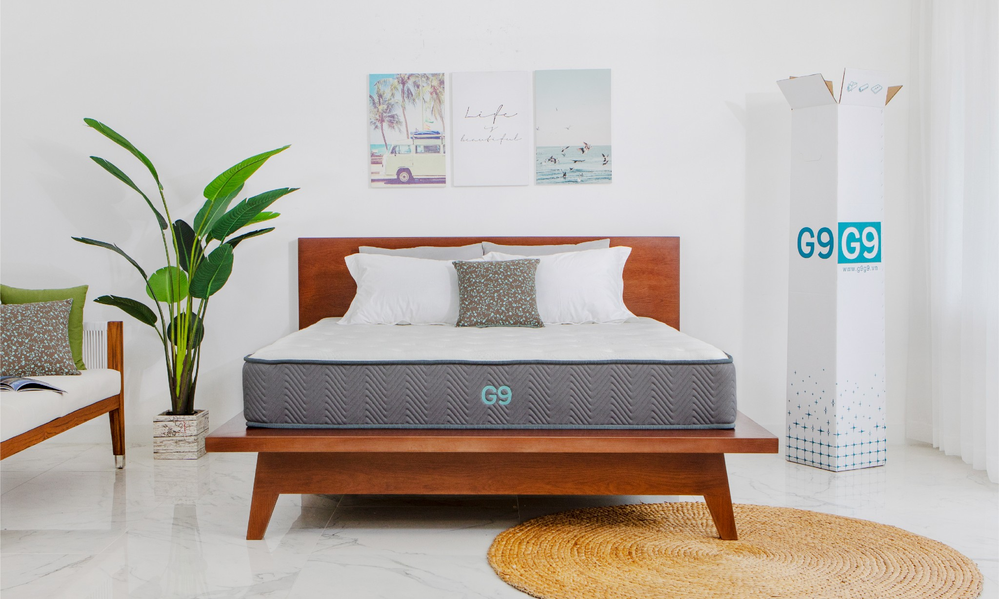 The Noa Sunset bed