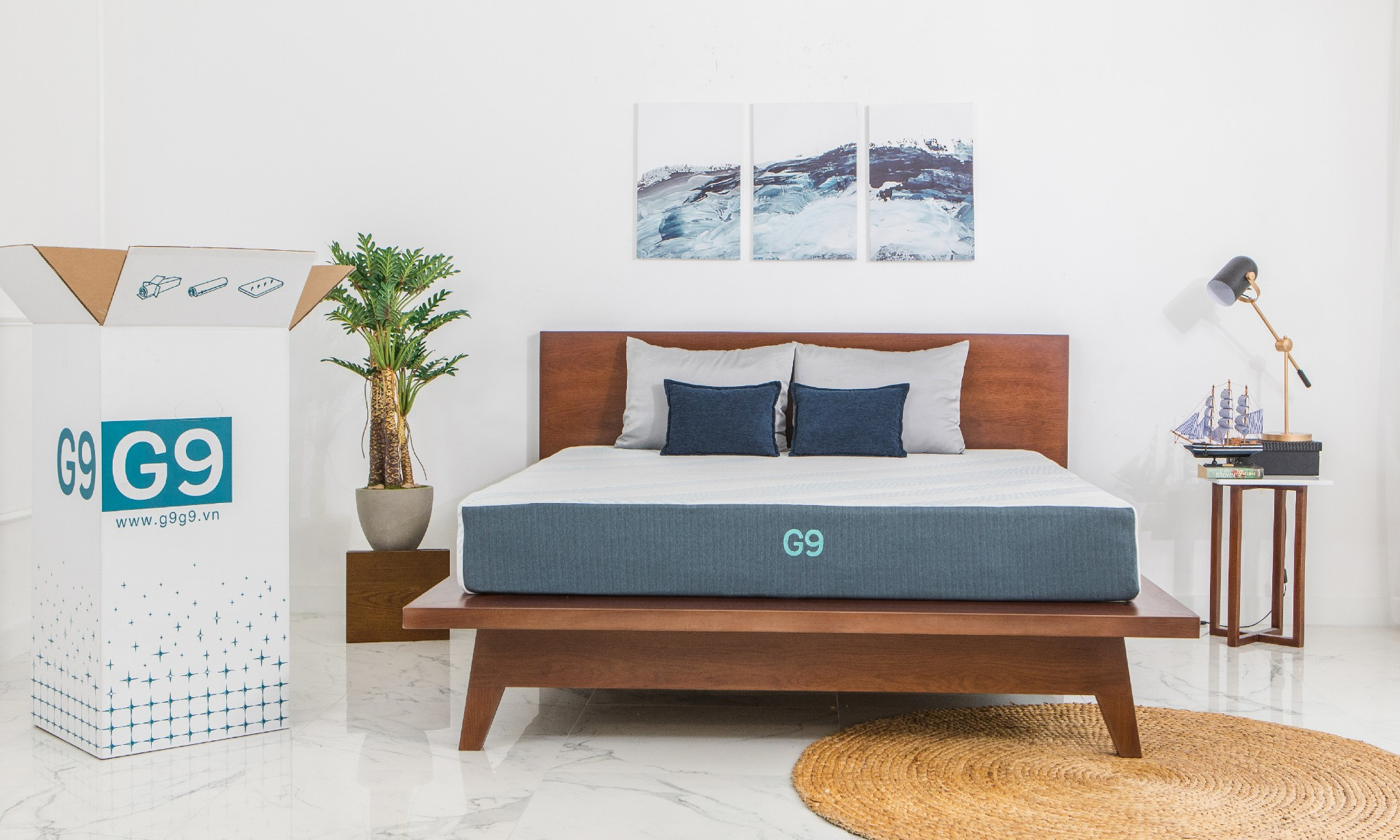 The Noa Sunrise bed