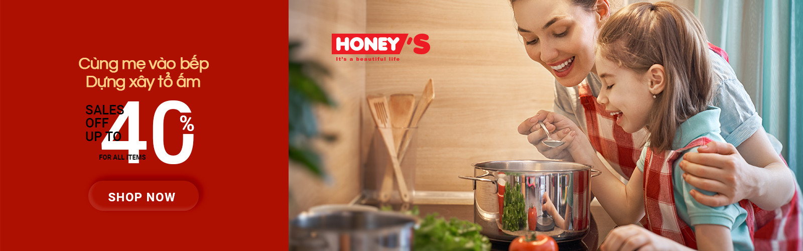 Honey'S: Intenational Woman's Day - SALES OFF 40% FOR ALL ITEMS